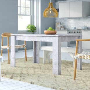 Concrete Look Dining Table Wayfaircouk - Extendable concrete dining table
