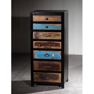 Marine Wooden 7 Drawer Lingerie Chest