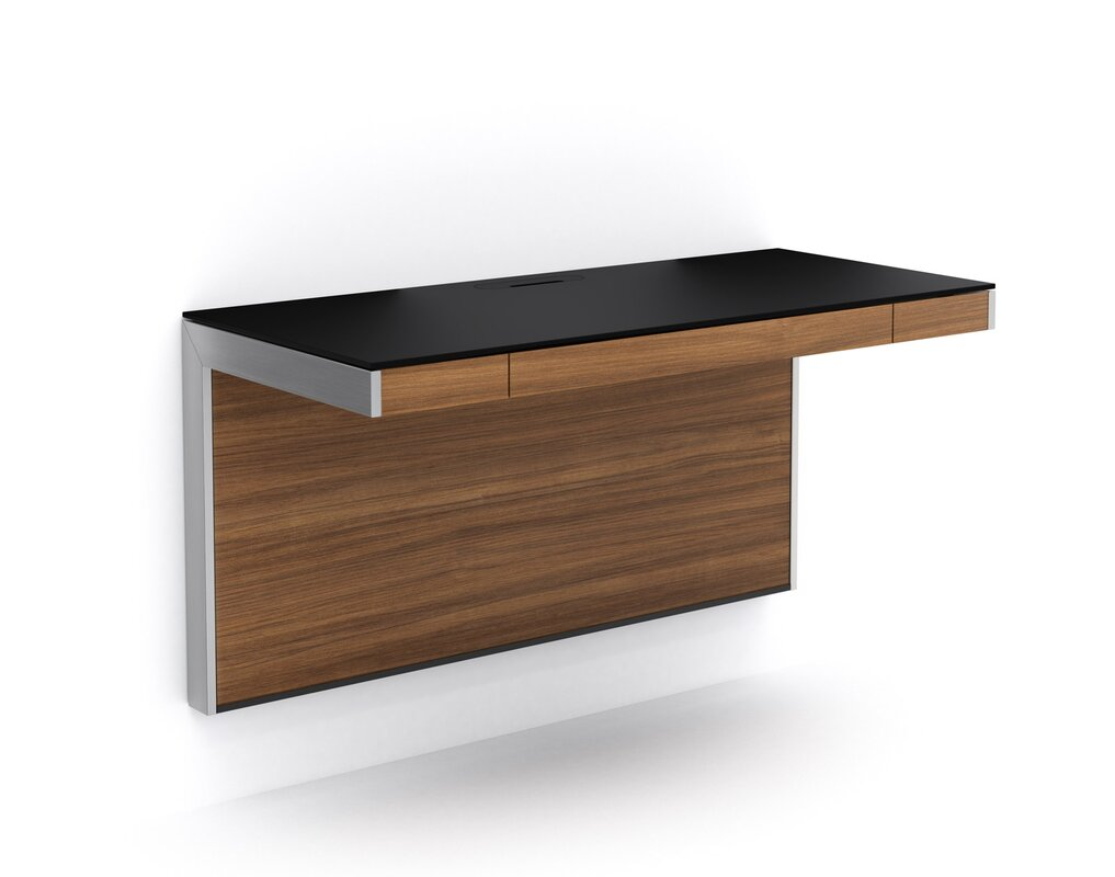 Sequel wall mounted floating desk reviews allmodern for Floating desk for sale
