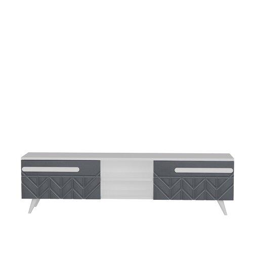 Tv Lowboard Krzysztof Fur Tvs Bis Zu 55 Modernmoments Farbe Anthrazit Moebel Suchmaschine Ladendirekt De