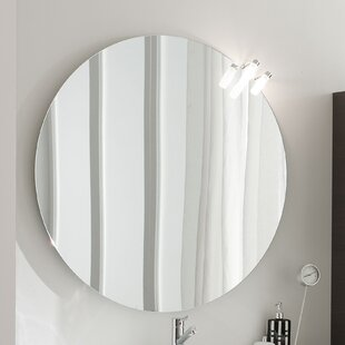 Top Light 2 Accent Mirror By Acquaviva