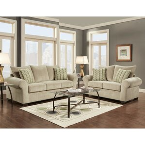 Red Barrel Studio Carrie Configurable Living Room Set
