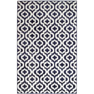 Best Choices Frieda Navy Area Rug By Andover Mills