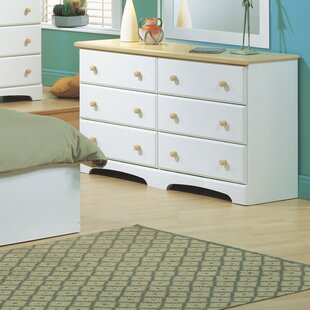Summertime 6 Drawer Double Dresser by South Shore