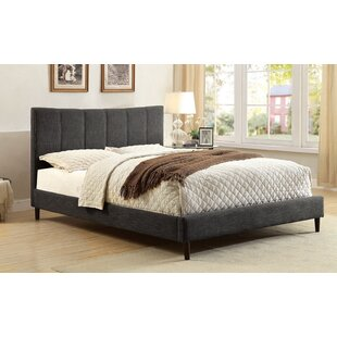 Shatnawi Upholstered Panel Bed by Ebern Designs