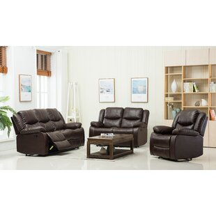 Shreyas 3 Reclining Piece Living Room Set by Red Barrel Studio