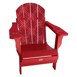 Latitude Run Keough Plastic Folding Adirondack Chair