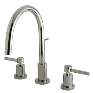 Reviews Concord Single Hole Widespread Bathroom Faucet By Elements of Design