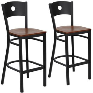 Chafin 29 Swivel Bar Stool (Set of 2) by Winston Porter