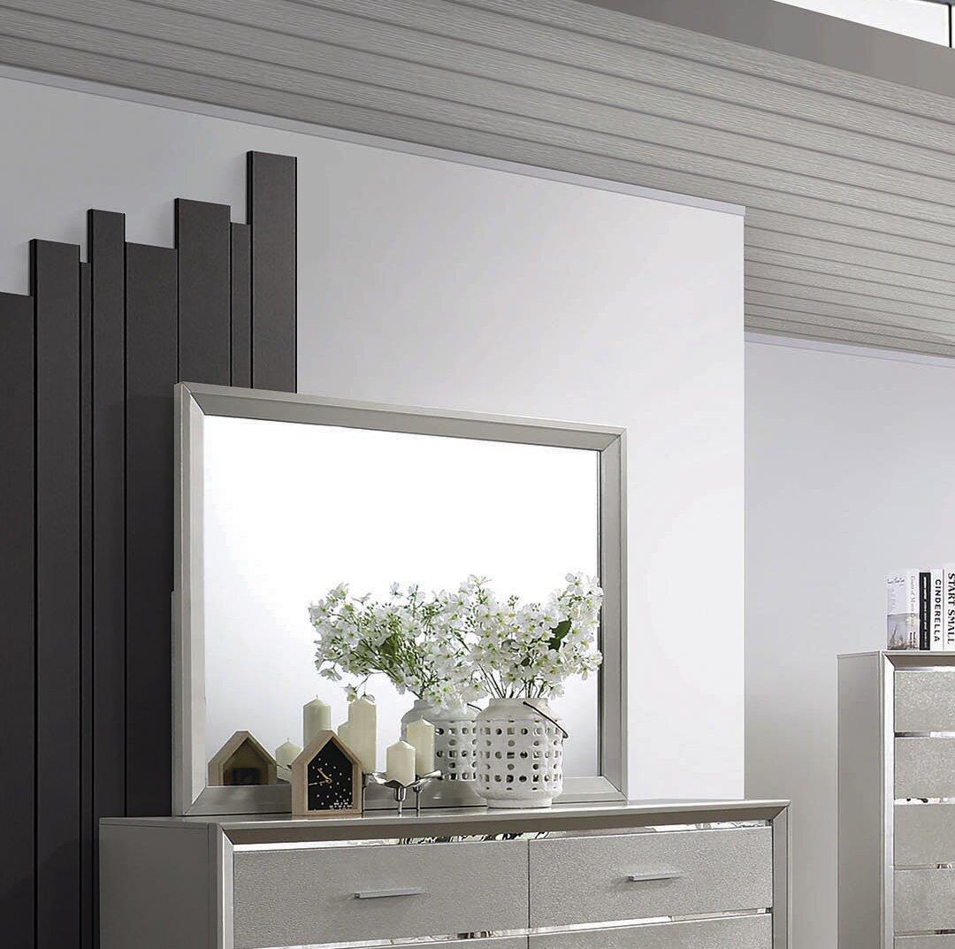 Everly Quinn Plumlee Modern Dresser Mirror Wayfair