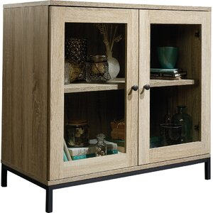 Ermont 2 Door Display Cabinet by Laurel Foundry Modern Farmhouse