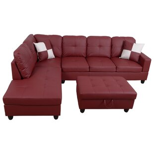 Lauria Sectional With Ottoman By Winston Porter