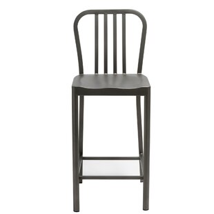 Ogema Metal Counter Height Bar Stool by W..