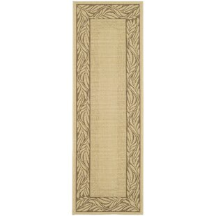 Amaryllis Brown / Tan Indoor/Outdoor Area Rug
