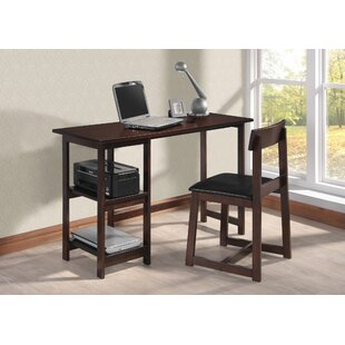 Heffernan Desk And Chair Set by Alcott Hill Cheap