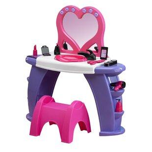 Piersten Deluxe Beauty Salon by Zoomie Kids