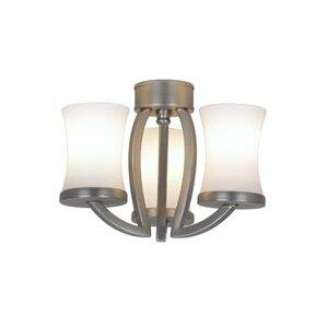 3light modern ceiling fan light kit