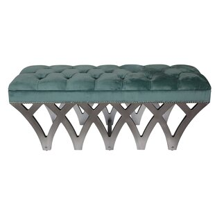 Cushing Upholstered Bench by Everly Quinn