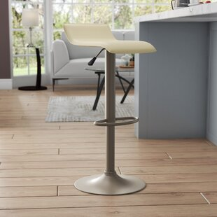 Vincent Adjustable Height Swivel Bar Stool