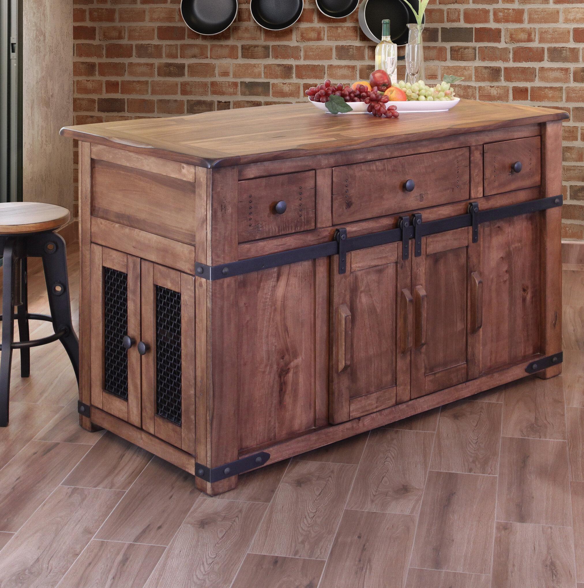 Assembled Medium Kitchen Islands & Carts You