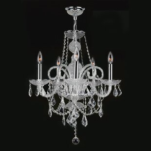 Astoria Grand Doggett 5-Light Candle Style Chandelier