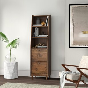 Posner Narrow Standard Bookcase by Mercury Row