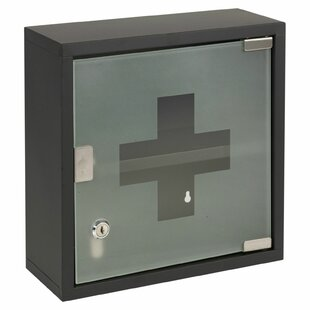 Bathroom Solutions 30cm X 30cm Surface Mount Medicine Cabinet By Symple Stuff