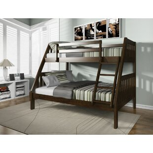 Edgeworth Twin Over Full Bunk Bed by Harriet Bee Best Choices