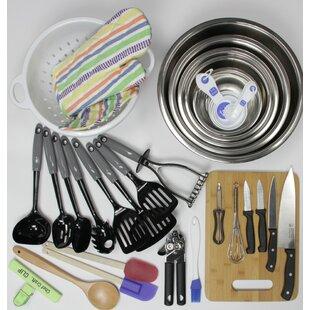 41 Piece My First Kitchen Starter Pack for Weddings Utensil Set