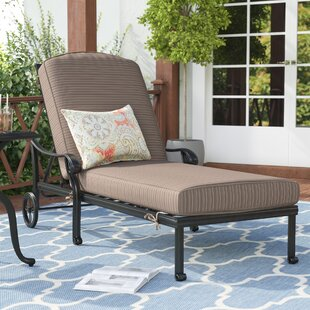 Germano Chaise Lounge with Cushion
