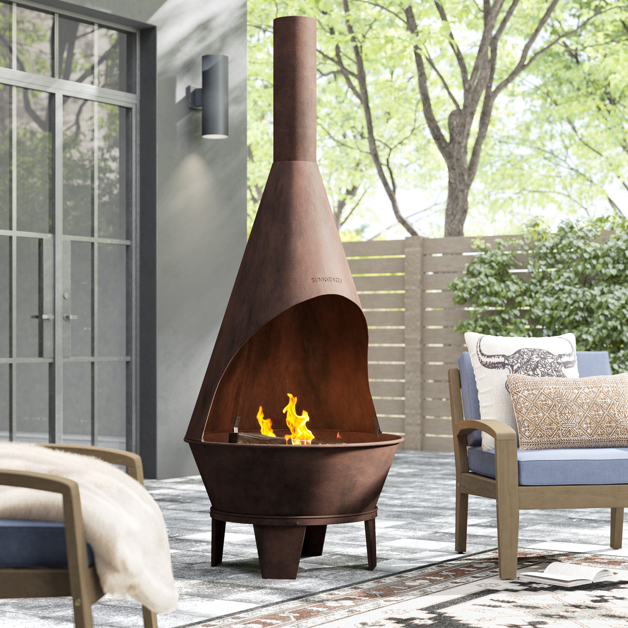 Fire Pit Chiminea