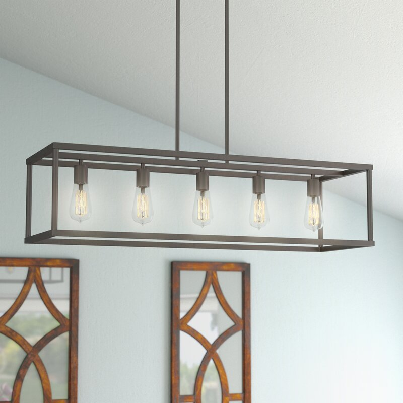 Cie 5 Light Kitchen Island Pendant