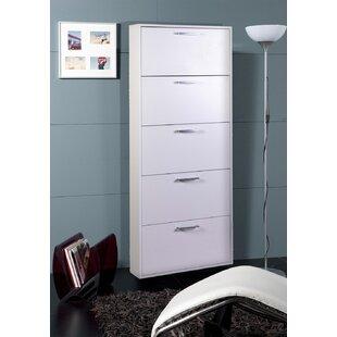 Facile 15 Pair Shoe Storage Cabinet By Mercury Row