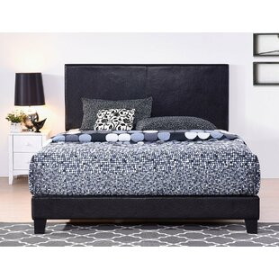 Shauntra Upholstered Low Profile Sleigh Bed