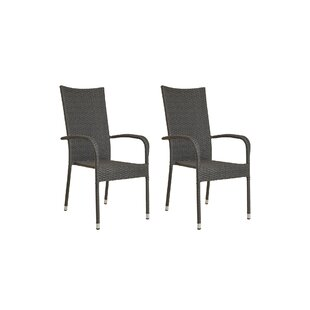 Ranks Stacking Garden Chair (Set Of 2) By Sol 72 Outdoor