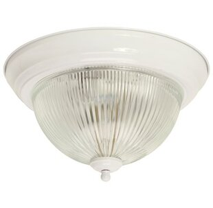 Dome ceiling light wayfair halophane dome 1 light flush mount aloadofball Choice Image