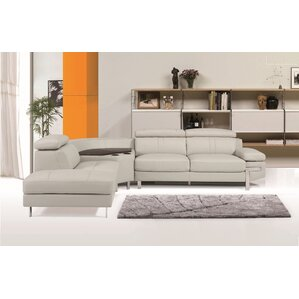Jone Reclining Sectional by Orren Ellis