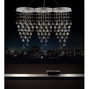 Robin 9-Light Crystal Chandelier by CWI L..