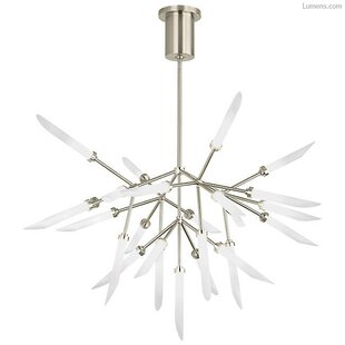 Brayden Studio Herlev 25-Light LED Chandelier