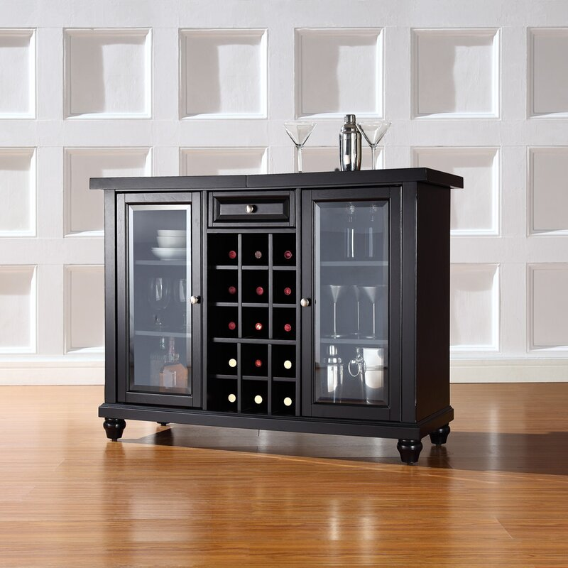 Awesome Shady Dale Bar Cabinet With Wine Storage