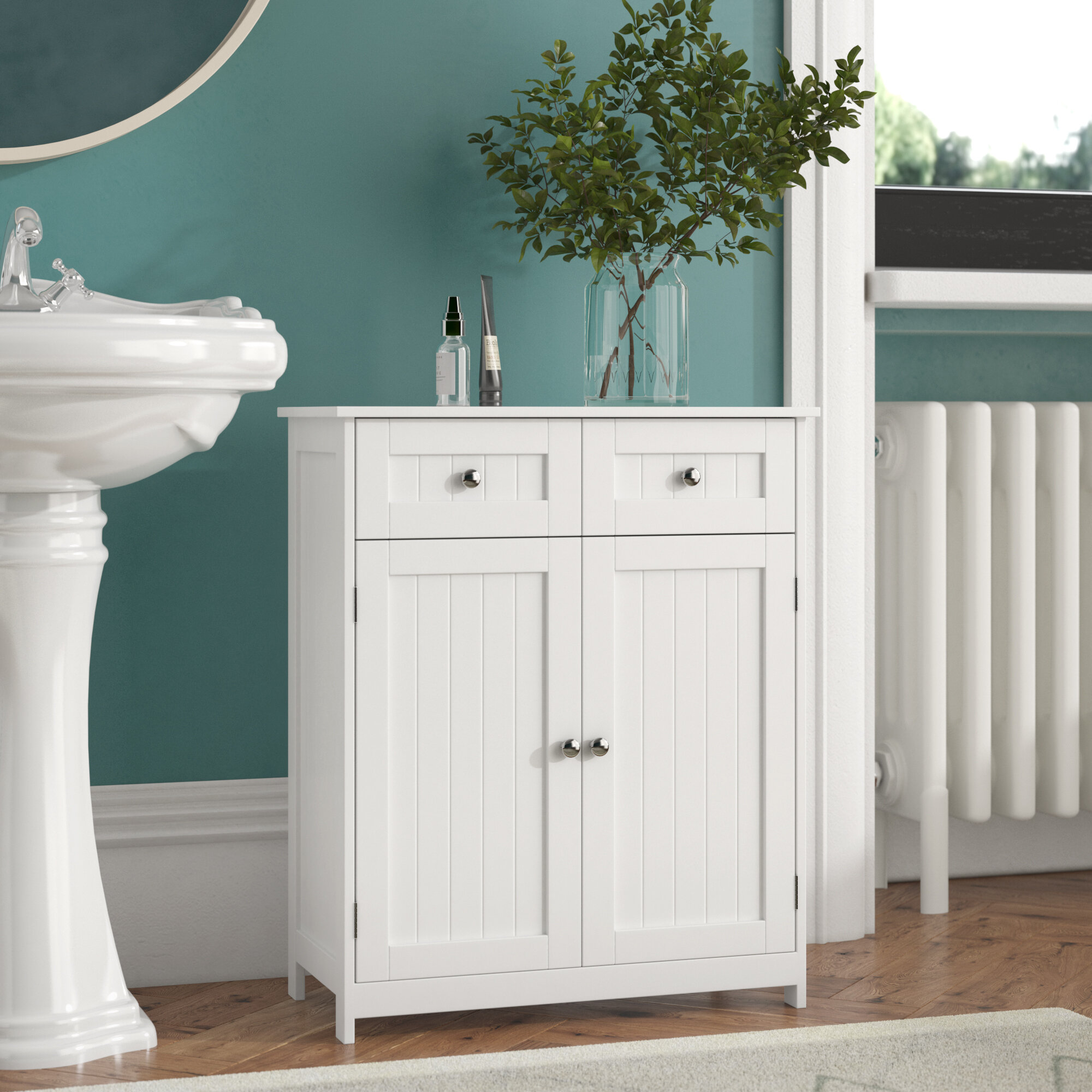 184a1f9cd5ec Wildon Home Vida Priano 60 x 75cm Free Standing Cabinet & Reviews    Wayfair.co.uk