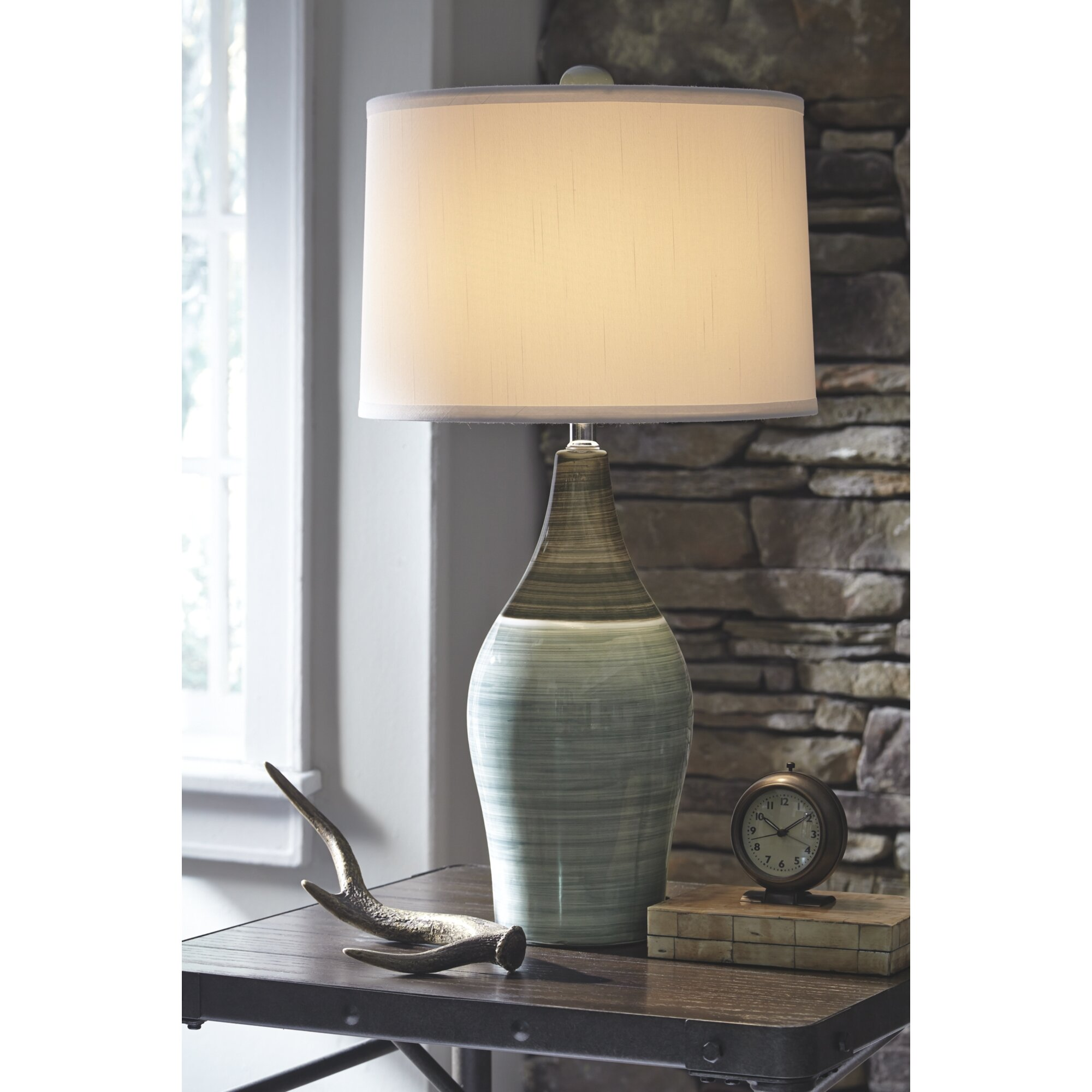 Thiel 28 table lamp reviews birch lane