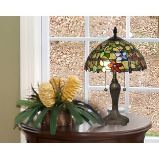 Fine Floral 22 Table Lamp