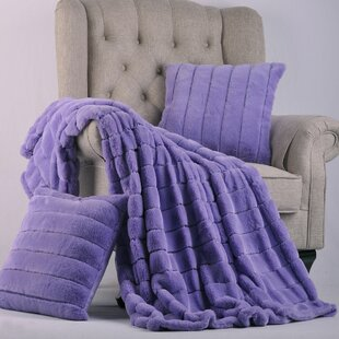 Purple Striped Blankets Throws You Ll Love In 2019 Wayfair