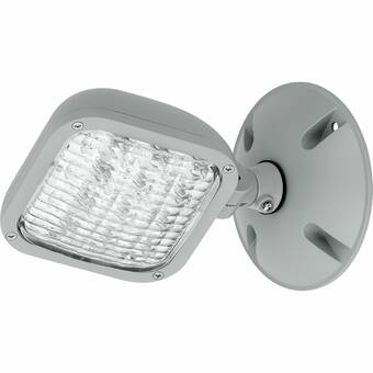 Cooper Lighting Llc Polycarbonate Led 5w Emergency Light With Remote Capability Wayfair