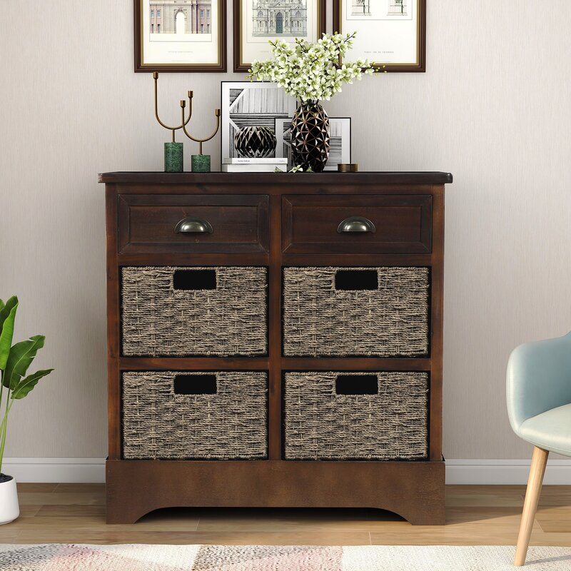 Adelynn 2 Drawer Accent Chest by Bay Isle Home