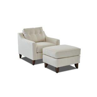 Wayfair Custom Upholstery™ Logan Ottoman