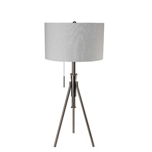 Contemporary Adjustable 37 Tripod Table Lamp