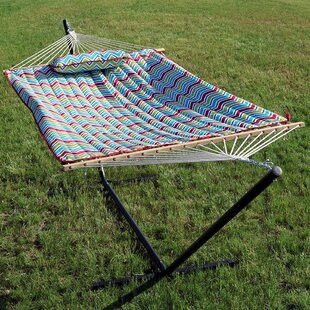 Ebern Designs Koeninger Rope Hammock with Stand