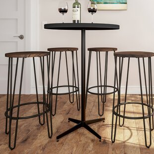 Cadell Hairpin 30 Bar Stool (Set of 2) by Union Rustic